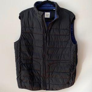 Gap Black Puffer Vest Size Medium
